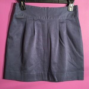 "Silence+ noise - blue mini skirt size 4 length 17"""